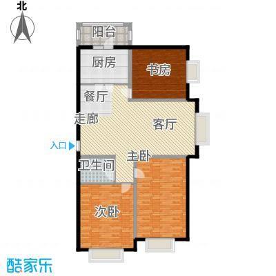 佳城花园140.00㎡佳城花园户型图105-1153室2厅1卫1厨户型3室2厅1卫1厨