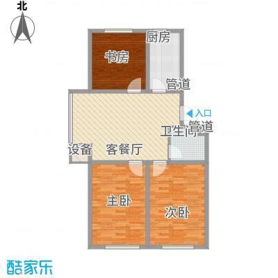 昊景家园91.33㎡昊景家园户型图3室1厅1卫户型10室