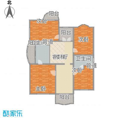 圣美邸379.15㎡圣美邸户型图复式二层户型6室3厅5卫1厨户型6室3厅5卫1厨