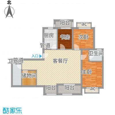 南郊新公馆130.62㎡南郊新公馆户型图户型图3室2厅2卫户型3室2厅2卫