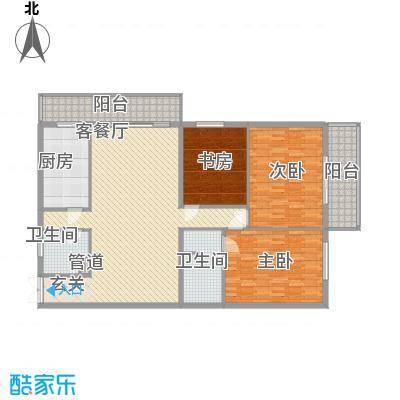 锦绣园182.00㎡锦绣园户型图141022273室2厅2卫1厨户型3室2厅2卫1厨