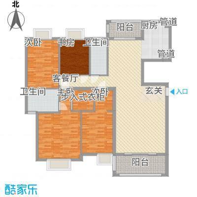 中信商业广场100.00㎡中信商业广场1室户型1室