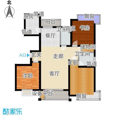 玫瑰99131.00㎡玫瑰993室户型3室