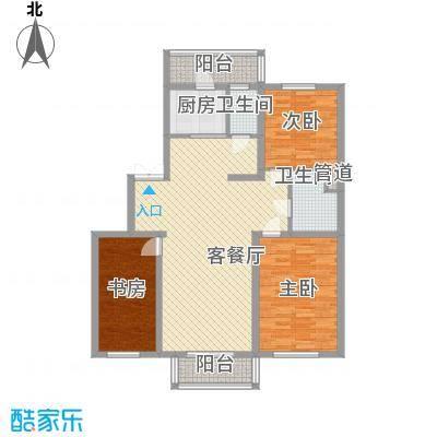 如意名苑128.67㎡如意名苑户型图3室2厅2卫户型10室