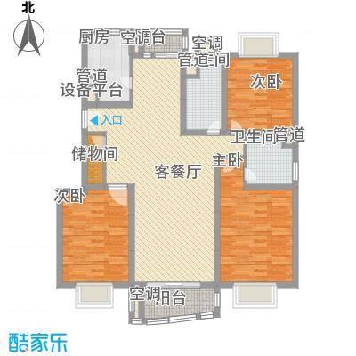 上海 秋月枫舍 户型图