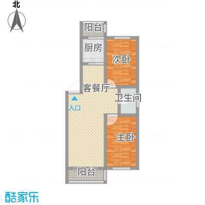 后林新村99.03㎡后林新村户型图10、11号楼2室2厅1卫户型2室2厅1卫