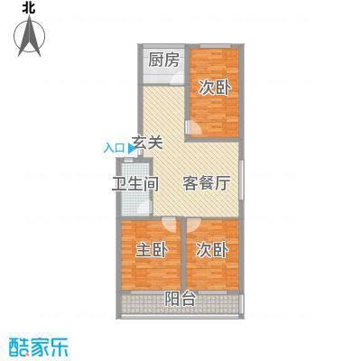 金润花园116.70㎡金润花园户型图户型图3室2厅1卫户型3室2厅1卫