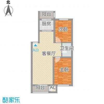 后林新村101.91㎡后林新村户型图2室2厅户型10室