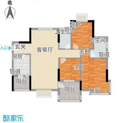 新维楼70.00㎡新维楼3室户型3室