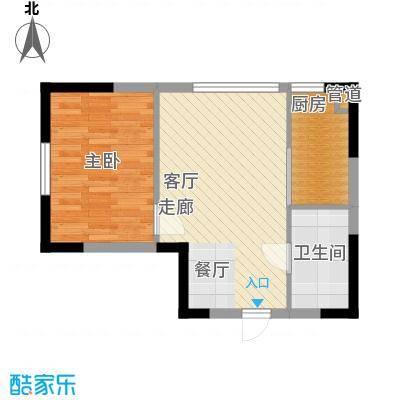 同方世纪大厦42.00㎡同方世纪大厦1室户型1室