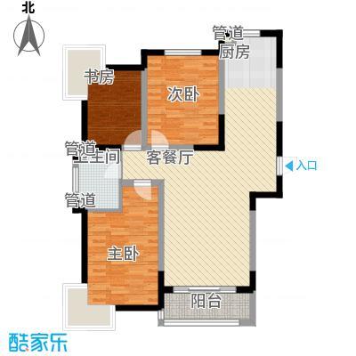融城时代117.00㎡融城时代户型图3室2厅1卫户型10室