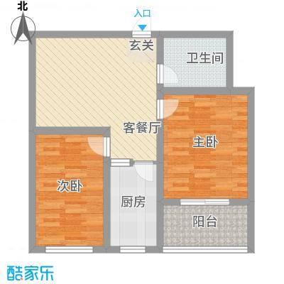 山水绿城77.69㎡山水绿城户型图77.69㎡2室1厅户型2室1厅