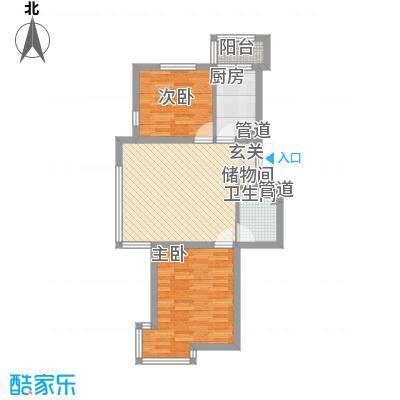 三江紫香园74.23㎡三江紫香园户型图M户型74.23-2112室1厅1卫户型2室1厅1卫