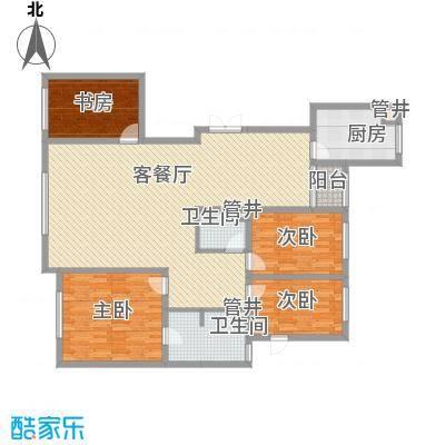 新华国际公寓172.19㎡新华国际公寓户型图4室2厅2卫户型10室