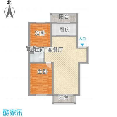 如意名苑115.10㎡如意名苑户型图2室2厅1卫户型10室