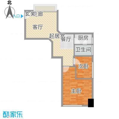 佳兆业中心佳兆业中心2室户型2室