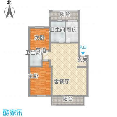 久业佳园132.00㎡久业佳园户型图3室2厅1卫户型10室