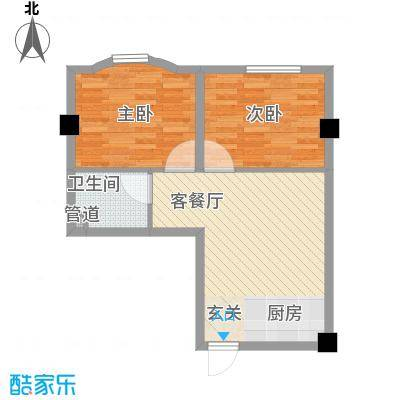 银领国际公寓67.00㎡银领国际公寓户型图1室1厅1卫1厨户型10室