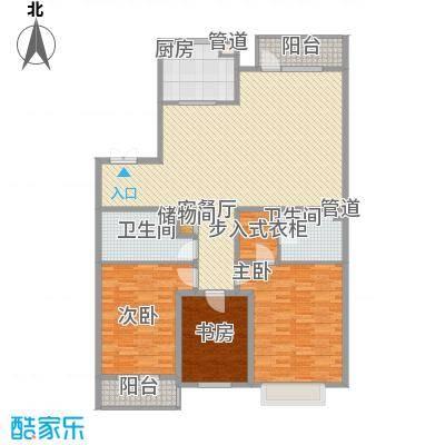 鹤翔公寓178.00㎡鹤翔公寓3室户型3室