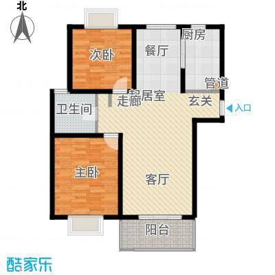 明中龙祥家园上海明中龙祥家园B型户型10室