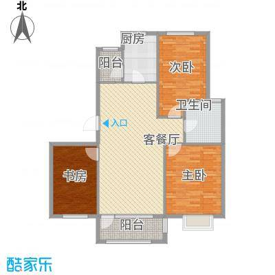保利花园・荣域112.00㎡保利花园・荣域3室户型3室