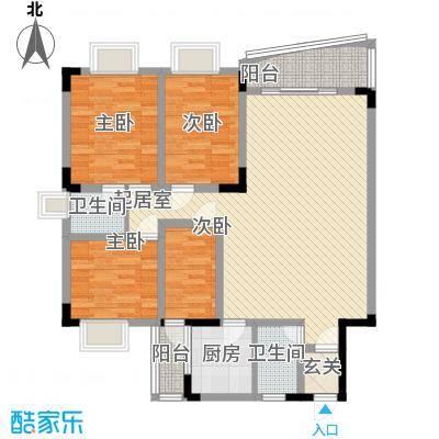 深圳聚豪园户型图1