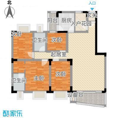 深圳聚豪园户型图2