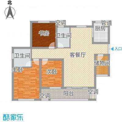 天亚水景城户型图户型图 3室2厅2卫1厨