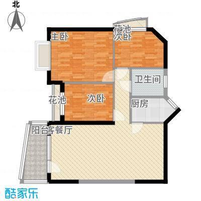 深圳聚豪园户型图3