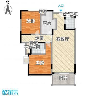 上海康城三期 2室 户型图