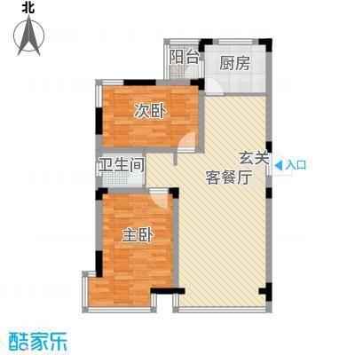 香域蓝山97.90㎡香域蓝山户型图2室2厅1卫户型10室