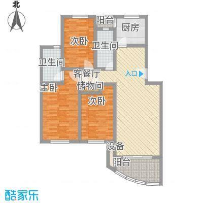 上海莘城123.00㎡上海上海莘城户型10室