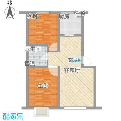 靓马滨湖花园94.00㎡靓马滨湖花园2室户型2室