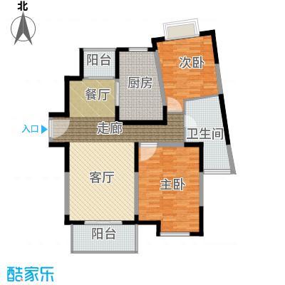 新时代富嘉花园新时代富嘉花园户型图16#B型户型图2室2厅1卫1厨户型2室2厅1卫1厨