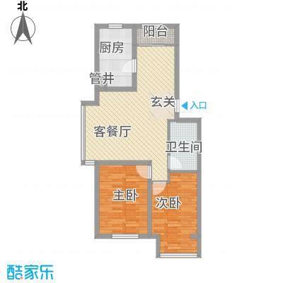 纳帕阳光82.04㎡纳帕阳光户型图户型图2室1厅1卫户型2室1厅1卫