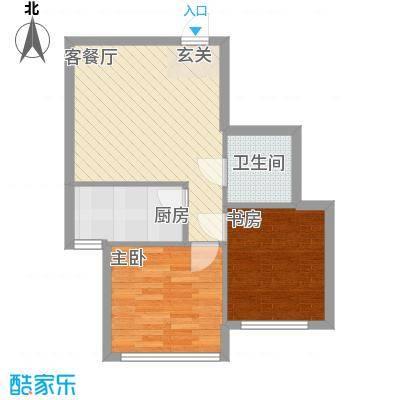 大城小居69.61㎡大城小居户型图2室1厅1卫户型10室