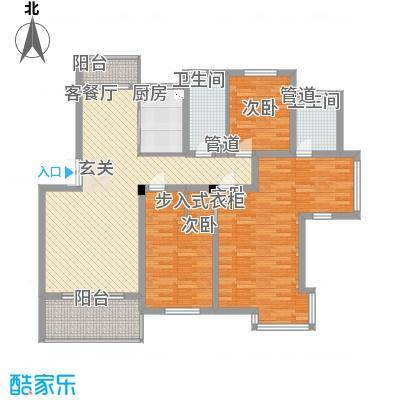 万枫家园户型图户型图 4室2厅2卫1厨