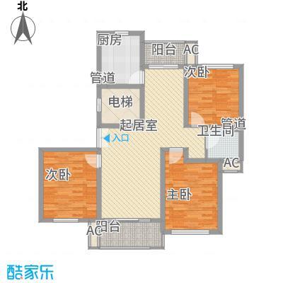 新时代景庭上海新时代景庭B单元01室户型1室