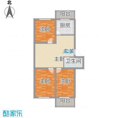 金厦雁翔居金厦雁翔居户型图3室2厅1卫户型10室