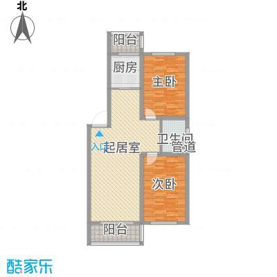 后林新村95.00㎡后林新村户型图2室2厅1卫户型10室