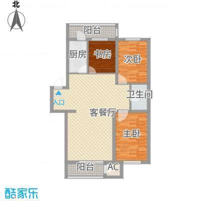 后林新村114.48㎡后林新村户型图3室2厅户型10室