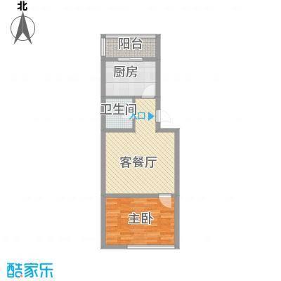 后林新村62.64㎡后林新村户型图1室1厅户型10室
