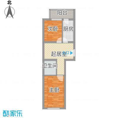东方御景59.21㎡东方御景户型图户型图32室1厅1卫户型2室1厅1卫