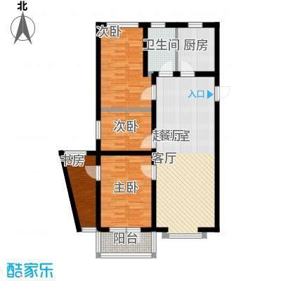 海岸东方114.47㎡海岸东方户型图D2、D4#楼户型3室2厅1卫1厨户型3室2厅1卫1厨
