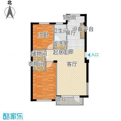 海岸东方海岸东方户型图渤海计划东方湾2室户型图2室2厅1卫1厨户型2室2厅1卫1厨