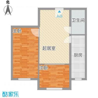 白领双星78.13㎡白领双星户型图户型图2室2厅1卫户型2室2厅1卫