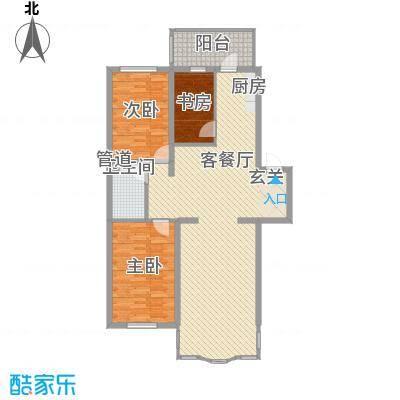 圣淘沙家园115.88㎡圣淘沙家园户型图3室2厅1卫户型10室