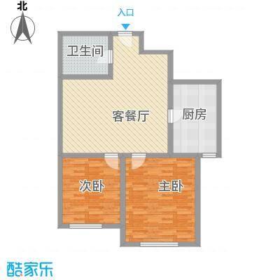 新伟庭院110.00㎡新伟庭院3室户型3室
