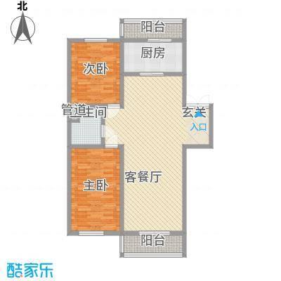 如意名苑113.71㎡如意名苑户型图2室2厅1卫户型10室