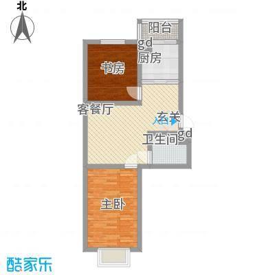 四季嘉园70.15㎡四季嘉园户型图2室2厅1卫户型10室
